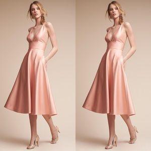 Anthropologie BHLDN Shelby Dress Peach